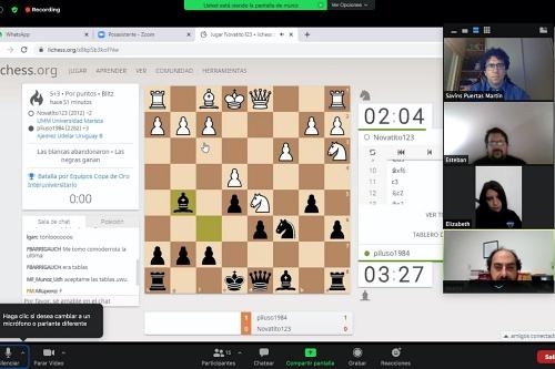 UAL Deportes llega al 'pitido final' con el ajedrez on-line
