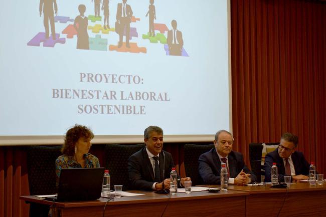Especial atención en la Universidad de Almería al Bienestar Laboral Sostenible