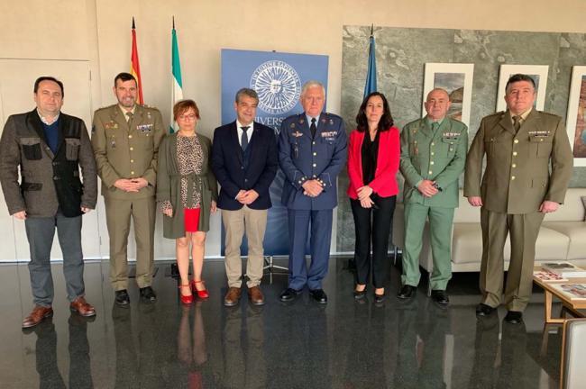 La UAL y el Ministerio de Defensa estrechan su colaboración