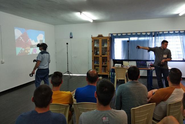 Realidad virtual para la reinserción de los presos de El Acebuche