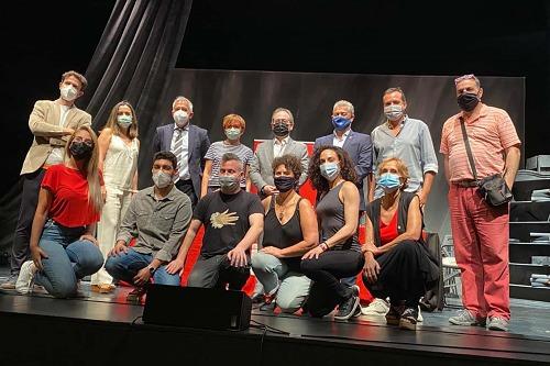 RNE corona al Aula de Teatro de la UAL subiendo su 'Saturno' a las tablas del Bellas Artes de Madrid