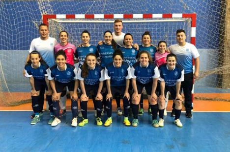 Históricas medallas para UAL Deportes en fútbol sala femenino y pádel
