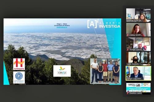 El Proyecto Singular AgroMIS aúna la investigación de la UAL y el sector hortofrutícola