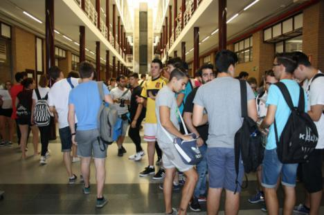 Casi 600 estudiantes realizarán a partir del día 11 las Pruebas de Acceso a la Universidad