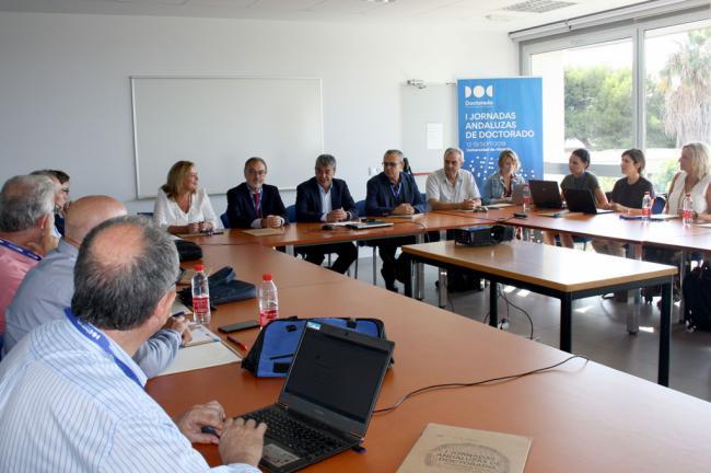 Responsables de Andalucía sientan las bases para una Sectorial Andaluza de Doctorado