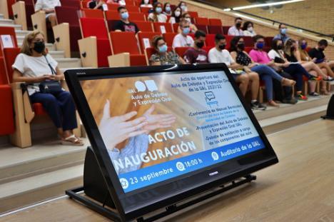 La UAL pone en marcha por cuarto curso su Aula de Debate y Expresión Oral