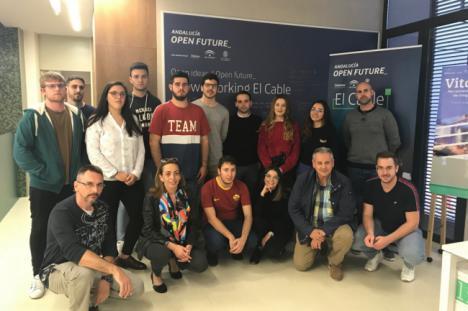 Estudiantes del programa JUMP Universidad de Almería visitan El Cable