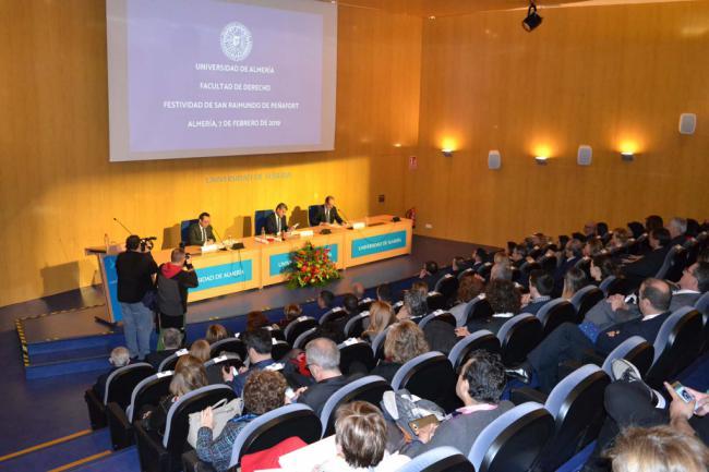 La Facultad de Derecho de la UAL centra su patrón en 'el futuro de los estudios jurídicos'