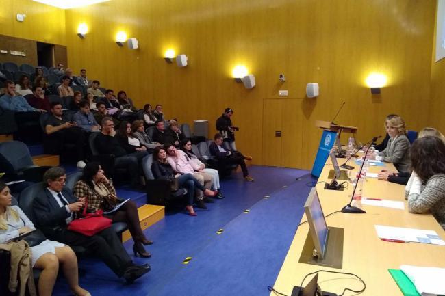 """Esperanza Aguirre: """"creo que no se habla suficiente de Almería'"""