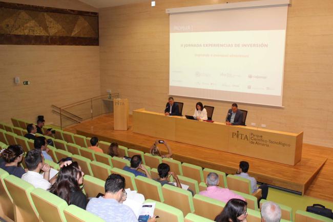 Inversores de reconocido prestigio comparten su experiencia con empresarios almerienses