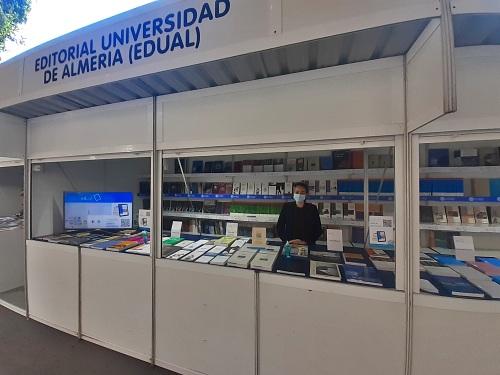 La Editorial Universidad de Almería participa en la Feria del Libro 2021