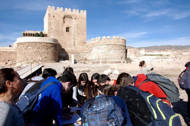 La Alcazaba inicia 2019 con visitas temáticas y la salida de los Reyes Magos