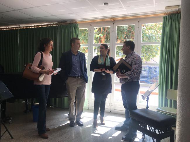 """El PP de Cuevas del Almanzora destaca el """"compromiso"""" de la Junta con el Conservatorio"""