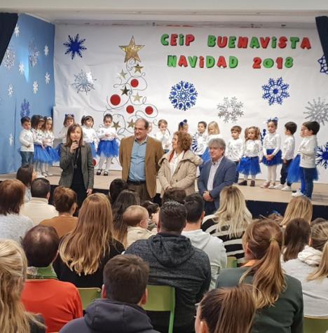 Los escolares del CEIP Buenavista celebran la llegada de la Navidad