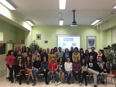 40 colegios almerienses en el Programa Erasmus+