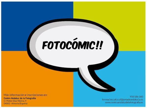 El CAF acoge el taller Fotocómic dirigido al público infantil