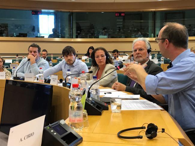 La Fundación Almeriense de Tutela muestra en el Parlamento europeo su labor
