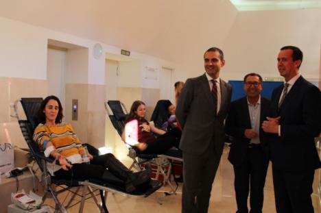 El Ayuntamiento acoge por primera vez una colecta de sangre
