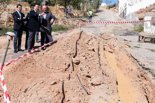 Diputación garantiza el suministro hídrico en ocho municipios con una inversión de un millón de euros