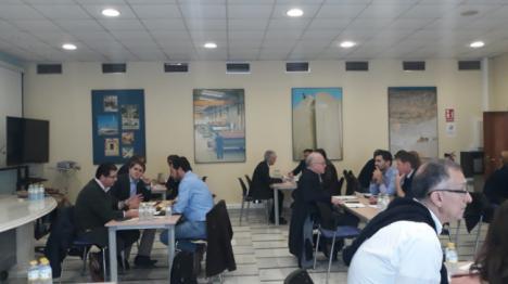 Once empresas almeriense se abren paso en el `IX Encuentro Internacional de la Piedra Natural´