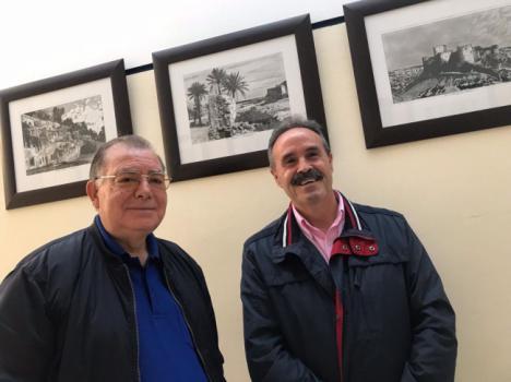 El Centro de Actividades Náuticas acoge una exposición de dibujos a plumilla de Ángel Pardo