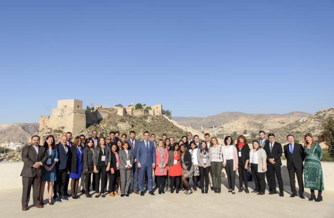 Municipalistas iberoamericanos conocen el modelo de ciudad que diseña Almería