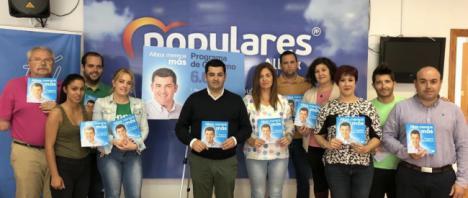 Pérez Quiles presenta el Programa 6.6 para transformar Albox
