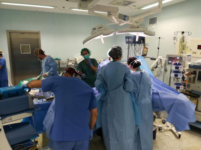 Almería incrementa las donaciones de órganos en un 79,3%