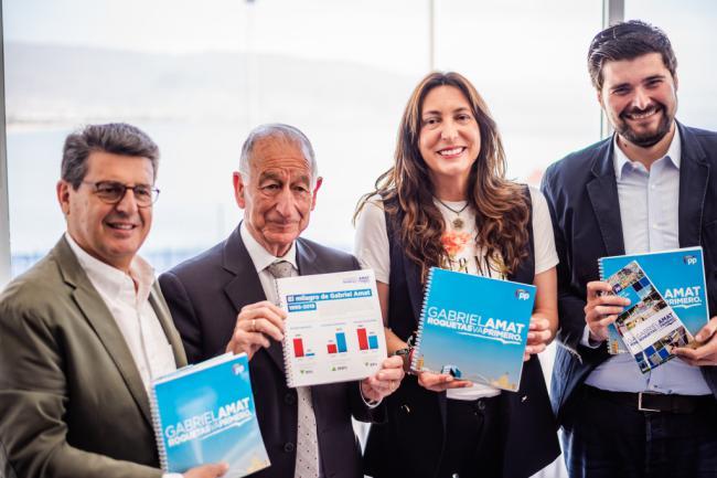 El PP presenta 200 propuestas 'realistas' para que Roquetas siga primero