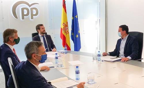 Javier A. García participa en la reunión de la Vicesecretaría de Política Territorial con Pablo Casado