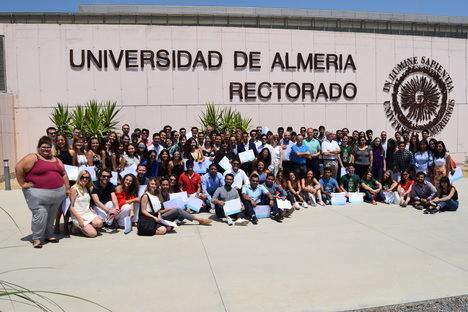 Más de 200 estudiantes internacionales finalizan su formación estival en la UAL