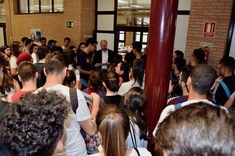 Normalidad el primer día de la PEvAU en la UAL pese al incremento de 400 estudiantes