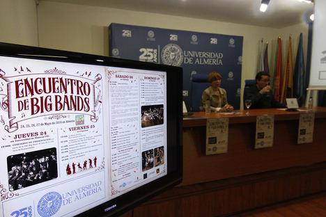 Encuentro de Big Bands para el '25 Aniversario' de la UAL