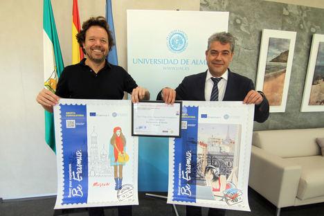 La UAL gana la 'Erasmus Poster Design Competition' por su campaña Erasmus plus 2018-2019