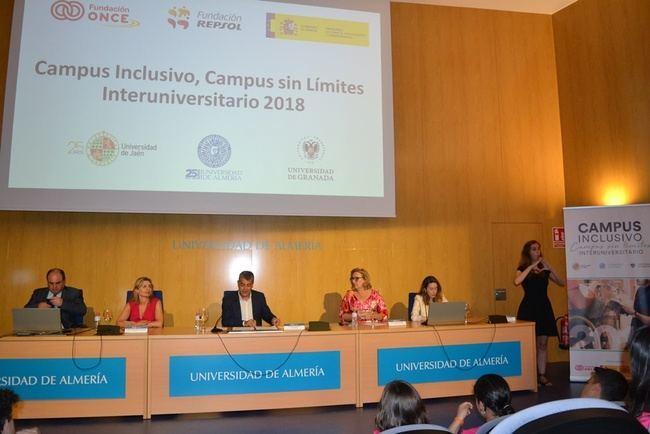 'Campus inclusivo' de la UAL: convivencia como herramienta para romper barreras