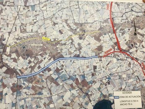 La Junta inicia la redacción del eje viario intermedio del Poniente del tramo Los Llanos de Vícar - La Mojonera