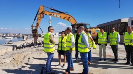 La Junta invierte más de tres millones en obras de mejora en el puerto de Garrucha
