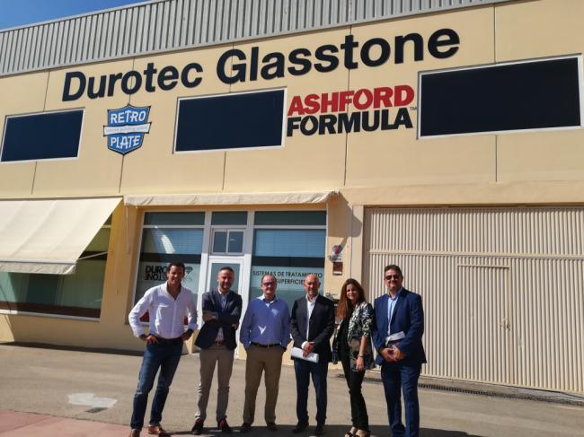 La Junta ofrece a Durotec su apoyo para internacionalización