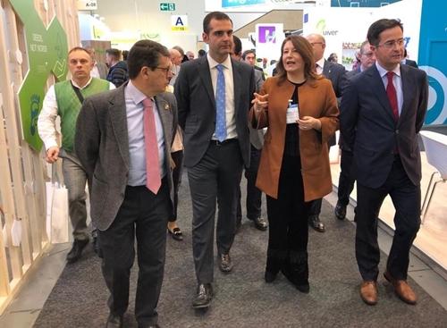El Ayuntamiento de Almería acompaña al sector en Fruit Logistica