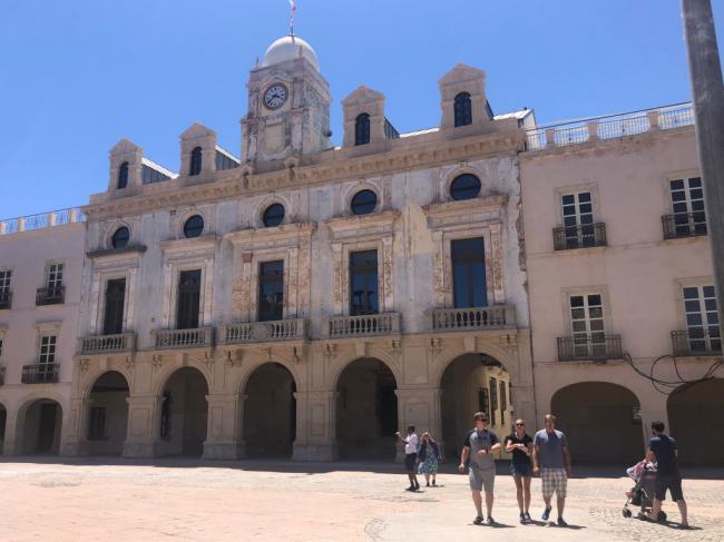 La fachada del Ayuntamiento estará rehabilitada en cuatro meses