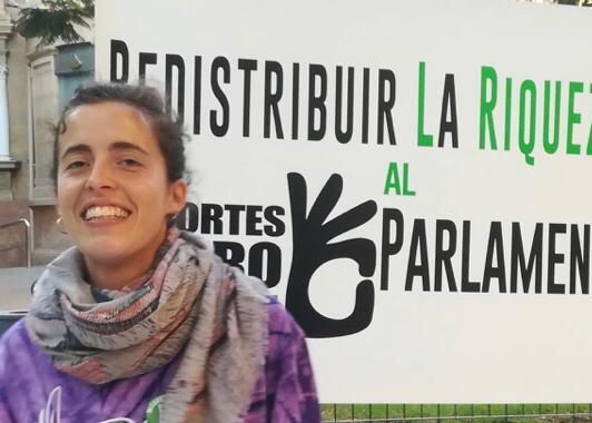 Recortes Cero-Grupo Verde ha presentado en Almería su candidatura