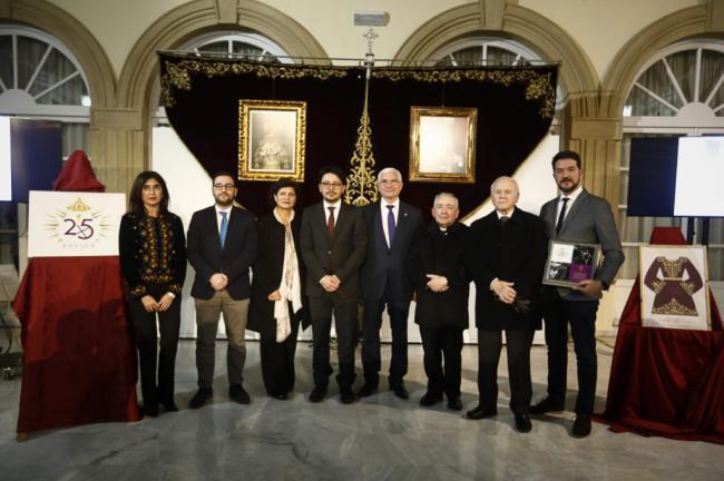 La Hermandad de Pasión inicia su XXV Aniversario con una exposición en la Diputación