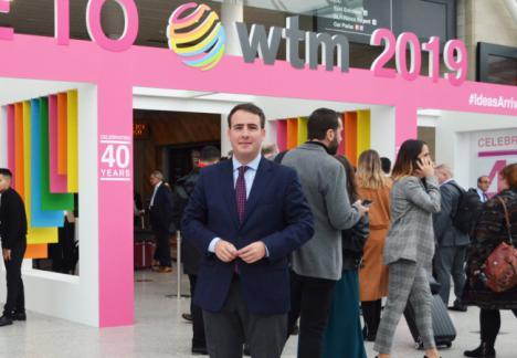 Diputación garantiza en Londres que la caída de Thomas Cook quedará amortiguada en 2020
