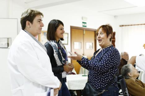 La Residencia Asistida de la Diputación celebra la fiesta de la castaña