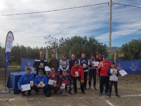 El Circuito Provincial de Petanca de Diputación corona a sus campeones