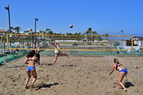 Navas-Cánovas y Prados-Díaz reinan sobre la arena de Vera en el III Torneo Indalo de Voley Playa