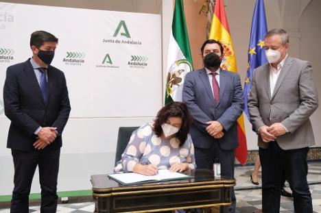 Diputación y Junta refuerzan su alianza del PFEA