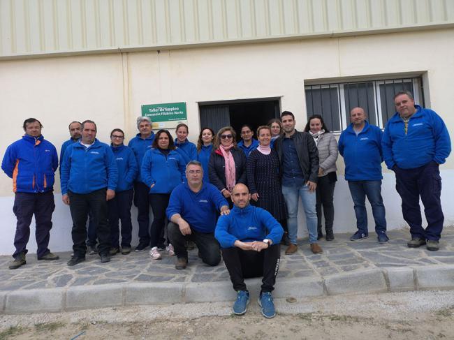 """Los Alumnos del Taller de Empleo """"Alojamiento Rural"""" de Líjar conocen un modelo de éxito"""