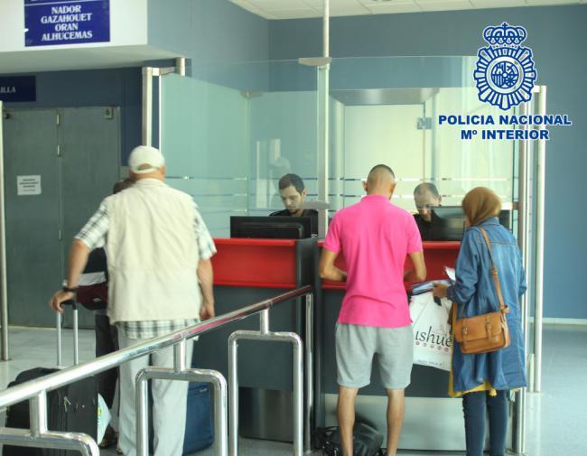 59 detenidos por distintas reclamaciones judiciales y policiales en el Puerto