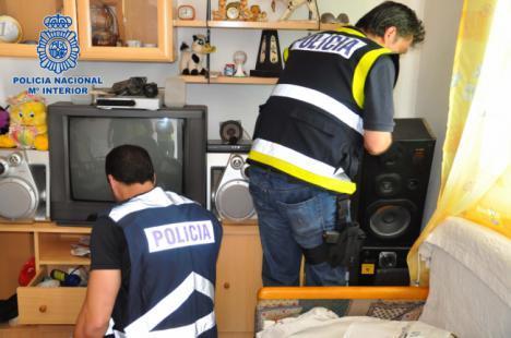 Golpe a la producción y tráfico de drogas en Almería con siete detenidos